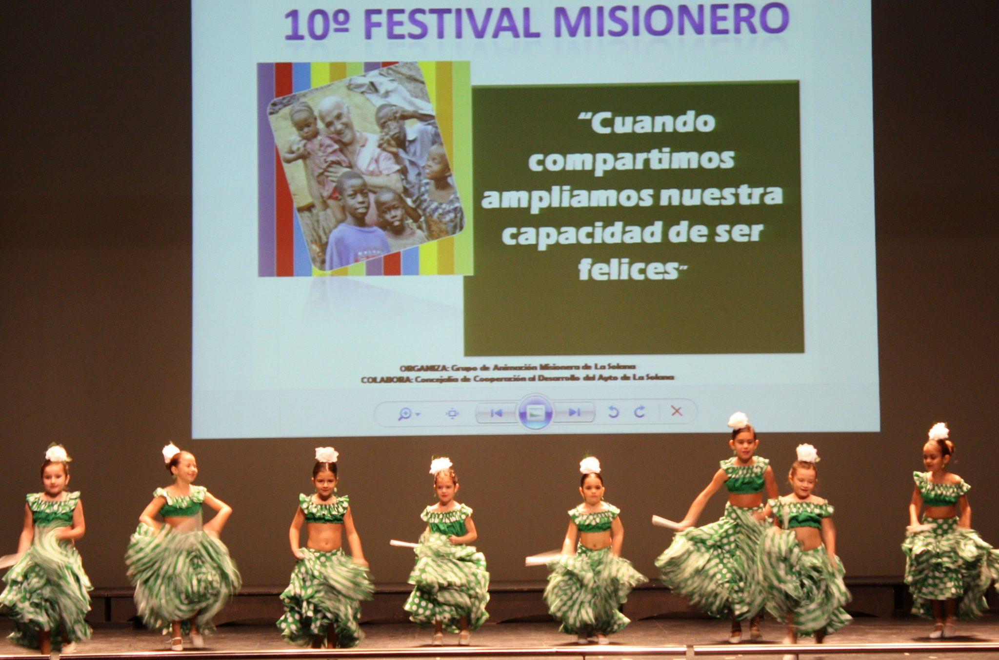 El X Festival Misionero recaudó 1.341 euros, superando la edición anterior