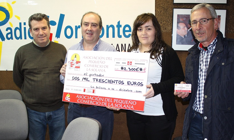 """Una joven solanera afincada en Miguelturra gana el premio de """"Con Bote"""""""