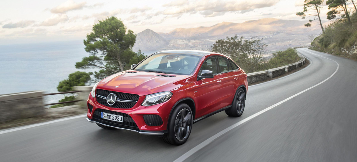 Mercedes-Benz GLE Coupé.  El SUV deportivo familiar