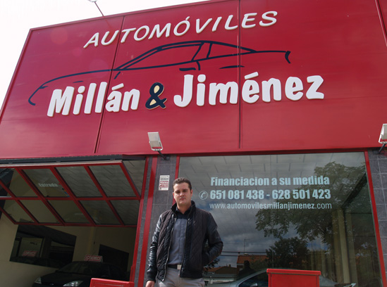 Espectacular éxito de la Feria del Automóvil de Millán&Jiménez
