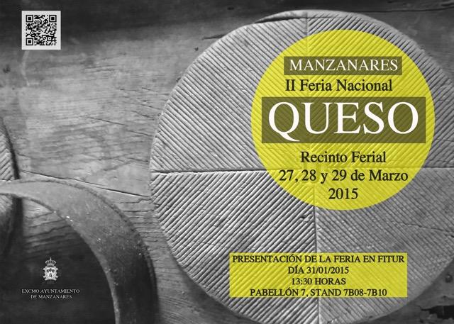 Manzanares presenta en FITUR 2015 la II Feria Nacional del Queso