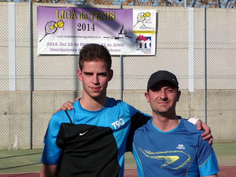 La Liga de Tenis 2015 de Miguelturra dará comienzo a primeros de marzo