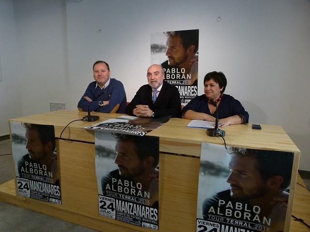 10.000 entradas para el concierto de Pablo Alborán en Manzanares
