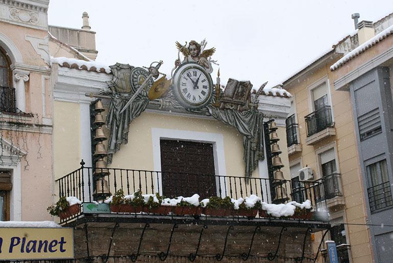 Reunión de coordinación en el Ayuntamiento de Ciudad Real en previsión de riesgo de nevadas en la capital los próximos días