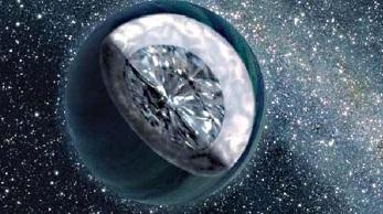 """Los planetas formados por """"diamante"""""""