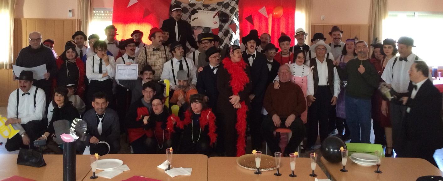 Carnaval de los años 20 en el Centro Ocupacional de Manzanares