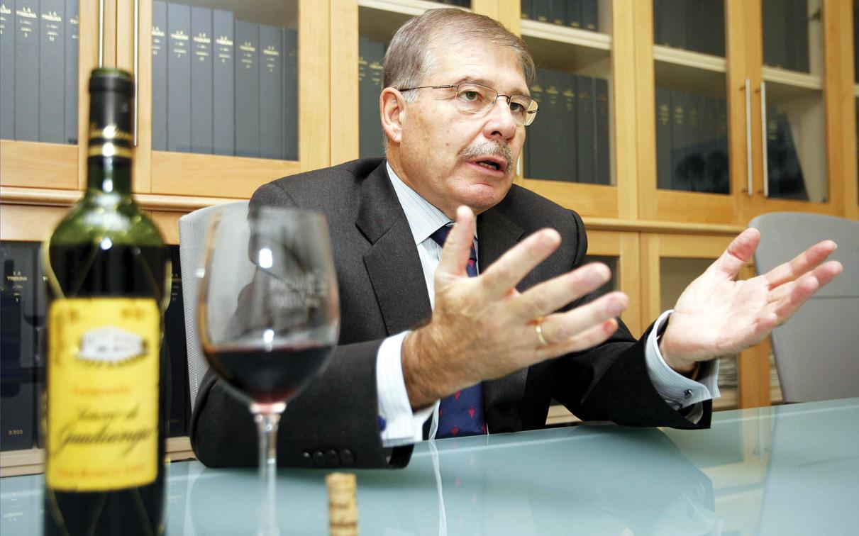 Alfonso Monsalve. Presidente de la Asociación Provincial de Empresarios de Industrias Vitivinícolas