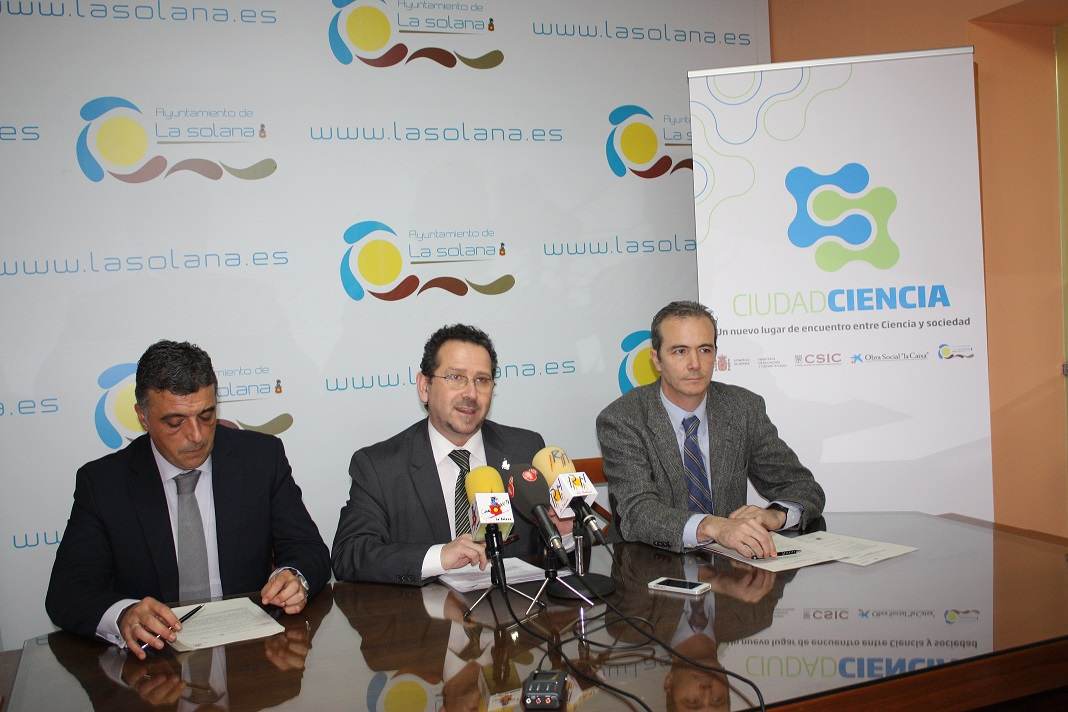 El Ayuntamiento de La Solana participa en el proyecto de divulgación «Ciudad de la Ciencia»