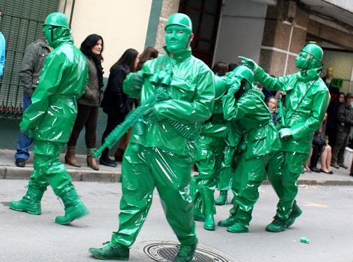 Ganadores en el desfile del lunes de carnaval de La Solana