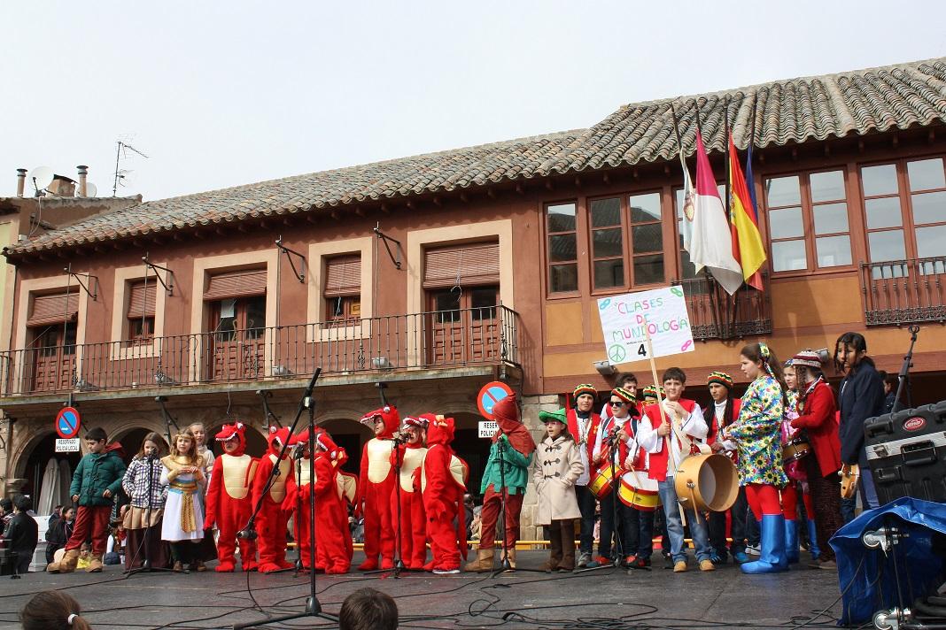 La murga «Época Medieval» ganó el concurso de murgas infantil de La Solana