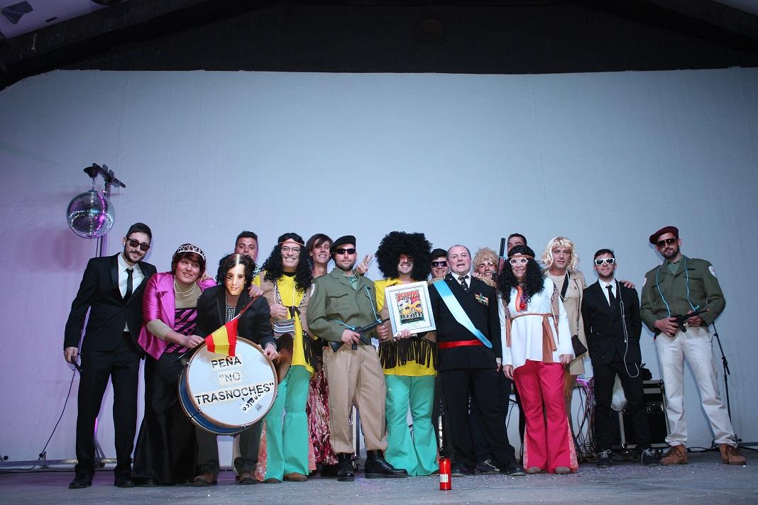 Inaugurado el Carnaval de La Solana con el nombramiento de Carnavalero y el pregón de la murga «No trasnoches»