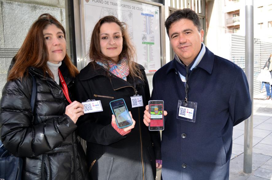 Una alumna de la UCLM crea una aplicación móvil para consultar el tráfico de autobuses urbanos en Ciudad Real