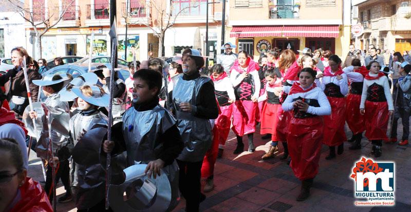 Los colegios de Miguelturra celebran el inicio del Carnaval 2015
