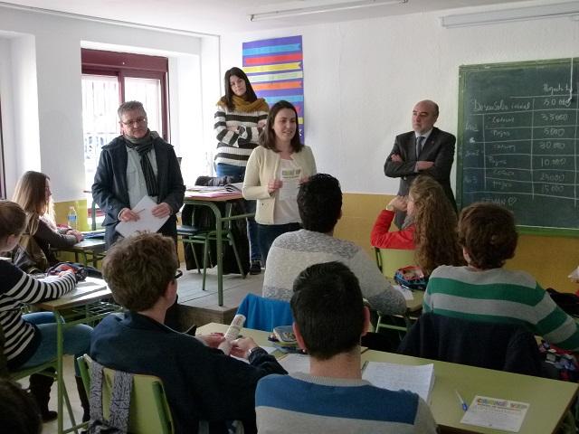 Presentada la tercera edición del Carné VIP a los estudiantes de 4º de ESO