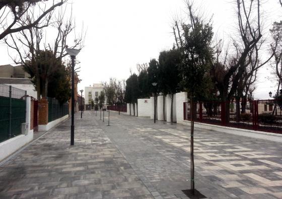 El Ayuntamiento de Carrión termina una importante modernización de sus calles más céntricas, Avda. Castilla y Feria, con obras de pavimentación e infraestructuras