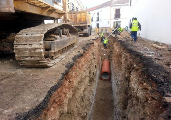 El Ayuntamiento de Carrión de Calatrava acomete importantes obras para resolver las inundaciones de la zona de influencia de la estatua del Quijote