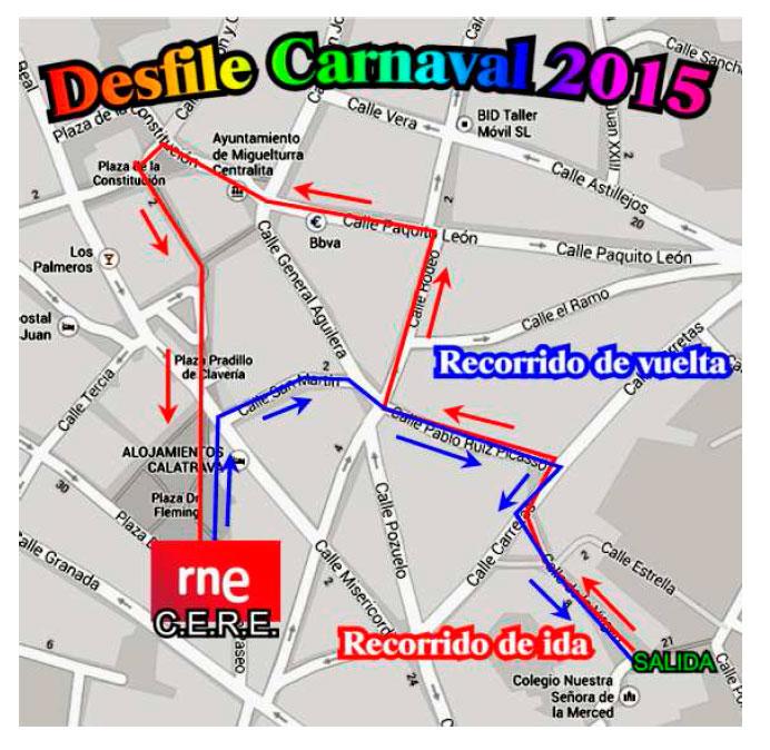El Colegio Concertado Nuestra Señora de la Merced de Miguelturra celebra el Carnaval 2015 durante estas fechas