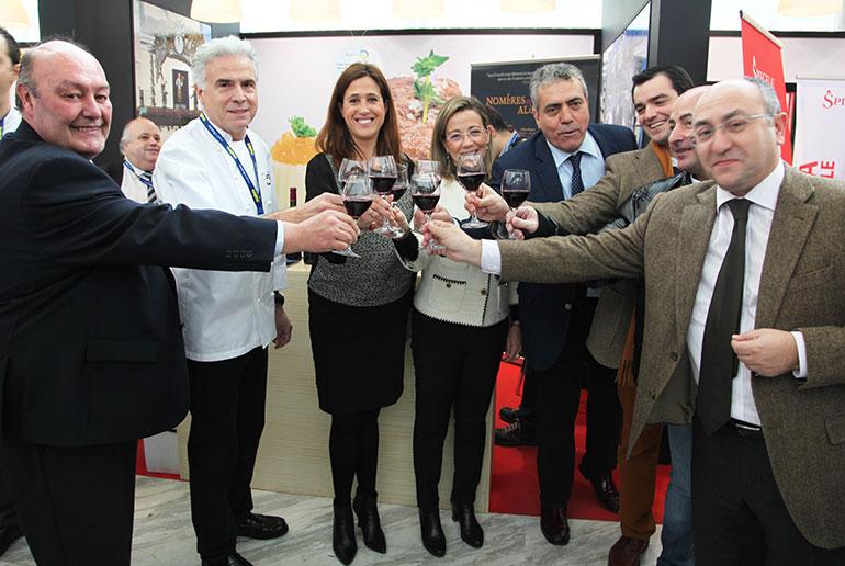 La alcaldesa promociona la gastronomía de Ciudad Real en Madrid Fusion