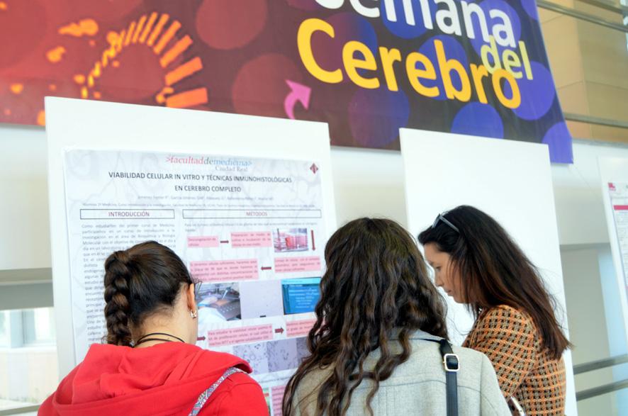 La Facultad de Medicina de Ciudad Real muestra a la sociedad su aportación científica sobre el cerebro