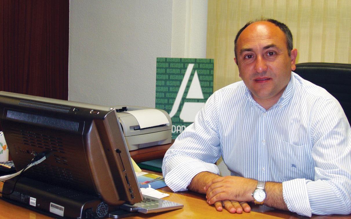 Florencio Rodríguez. Secretario general de ASAJA en Ciudad Real y vicepresidente de ASAJA Castilla-La Mancha