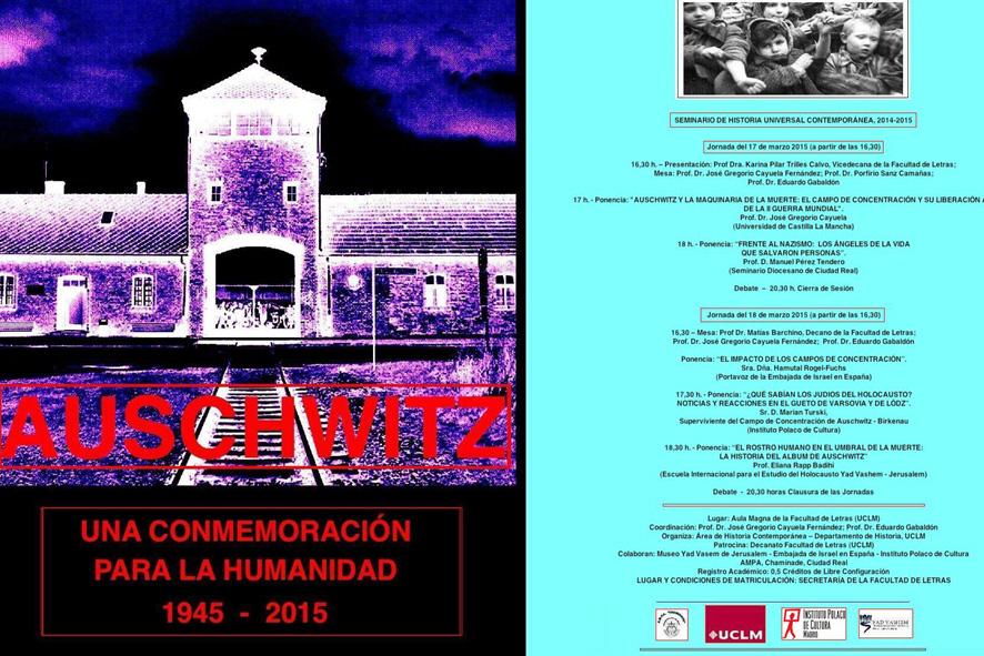 La UCLM celebrará un congreso conmemorativo del 70 aniversario de la liberación de Auschwitz