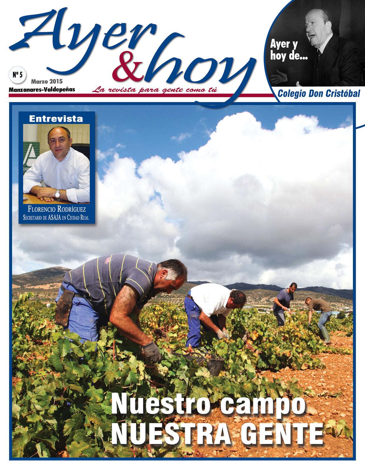 Revista de Marzo 2015 – Manzanares-Valdepeñas