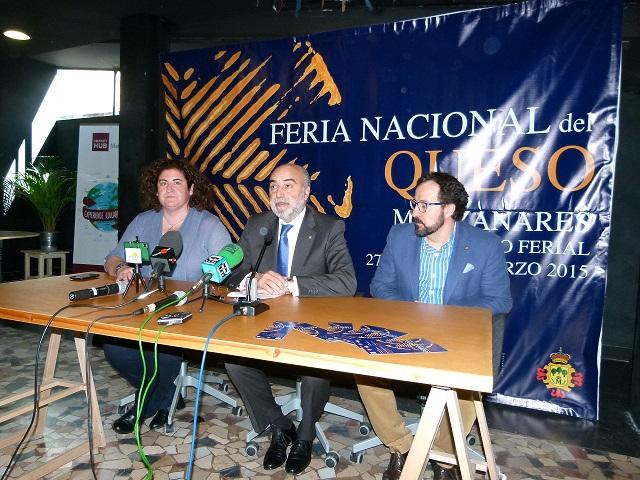 Manzanares presenta la II Feria Nacional del Queso