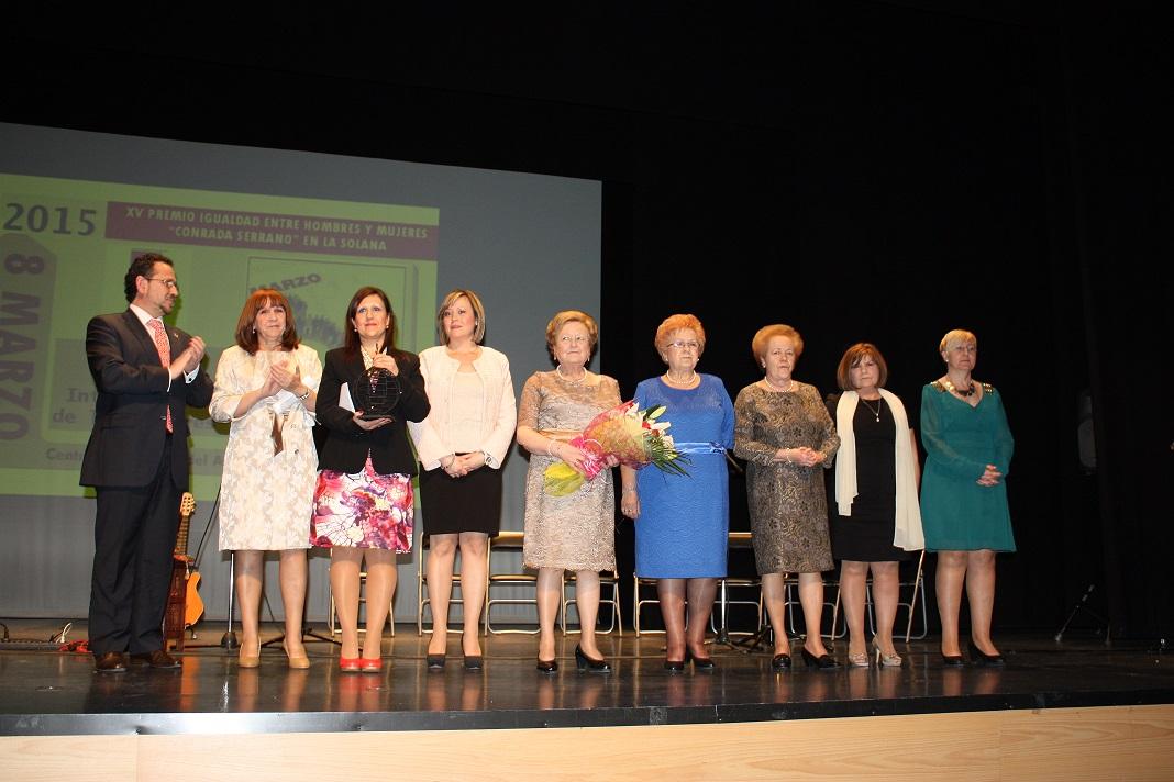 AFAMMER premiada en la XV Edición del premio » Conrada Serrano «