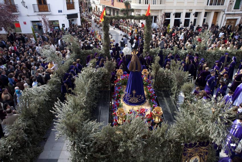 La Ruta de la Pasión Calatrava, de Interés Turístico Regional, duplicará la población de la comarca desde este domingo a Resurrección