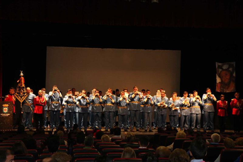 La Hermandad de Jesús orando en el Huerto de Los Olivos recauda 655,50 euros en su concierto solidario