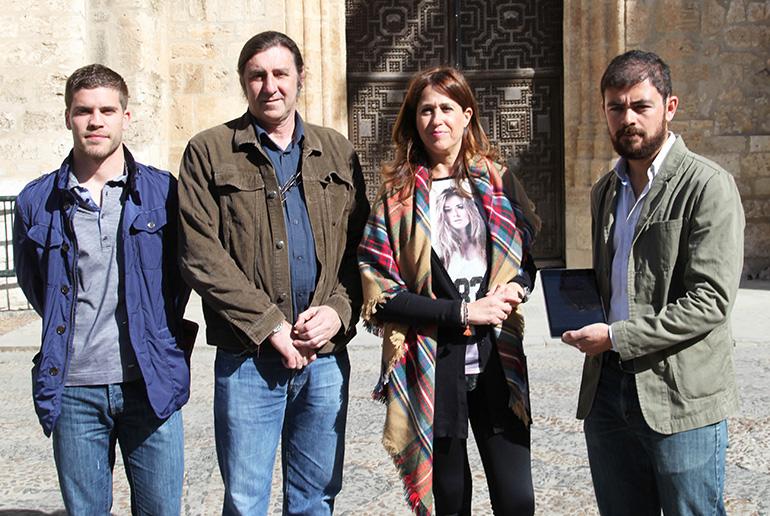 La alcaldesa presenta la app Infoquijote, un nuevo canal de alertas del Ayuntamiento