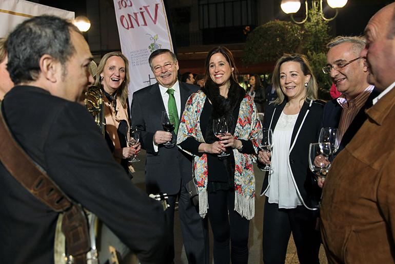 Rosa Romero asegura que la noche en vino es un excelente oportunidad para promocionar Ciudad Real como destino cultural y gastronómico