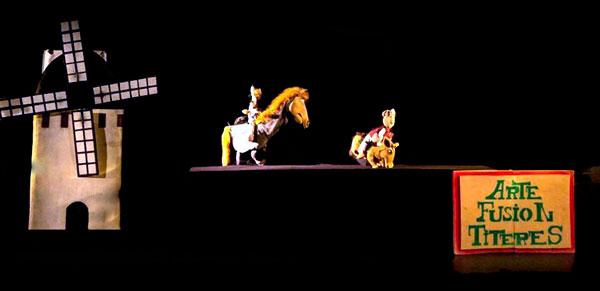 quijote cabalga