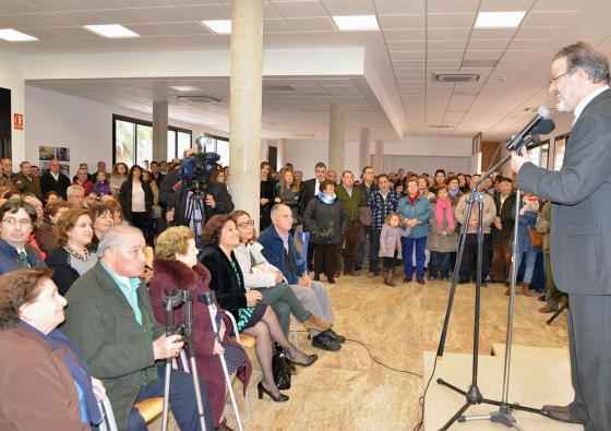 El presidente de la Diputación de Ciudad Real ha inaugurado en Torralba de Calatrava el Centro de Día y Hogar del Jubilado