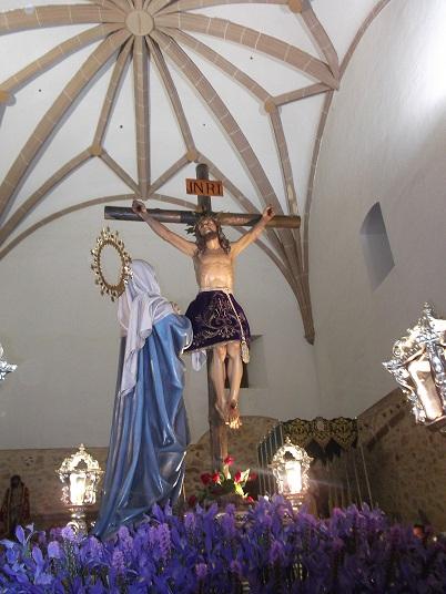 Numerosos fieles acompañaron al Cristo del Amor en La Solana