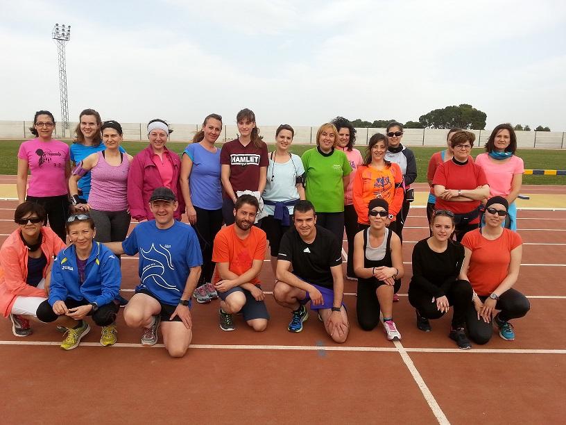 El reto de los 10 kilómetros, cada vez más cerca para el grupo de running