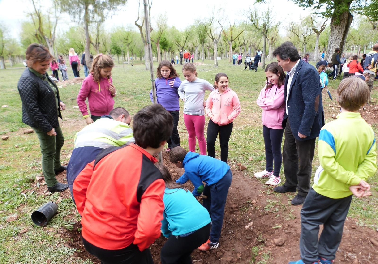 El Santuario de la Virgen de las Cruces cuenta con 40 nuevos árboles