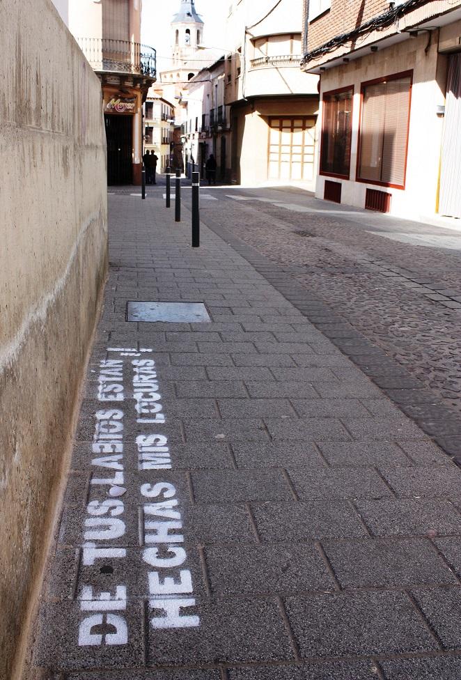 Pan de Trigo celebra el día del Libro con «Versos en el asfalto»
