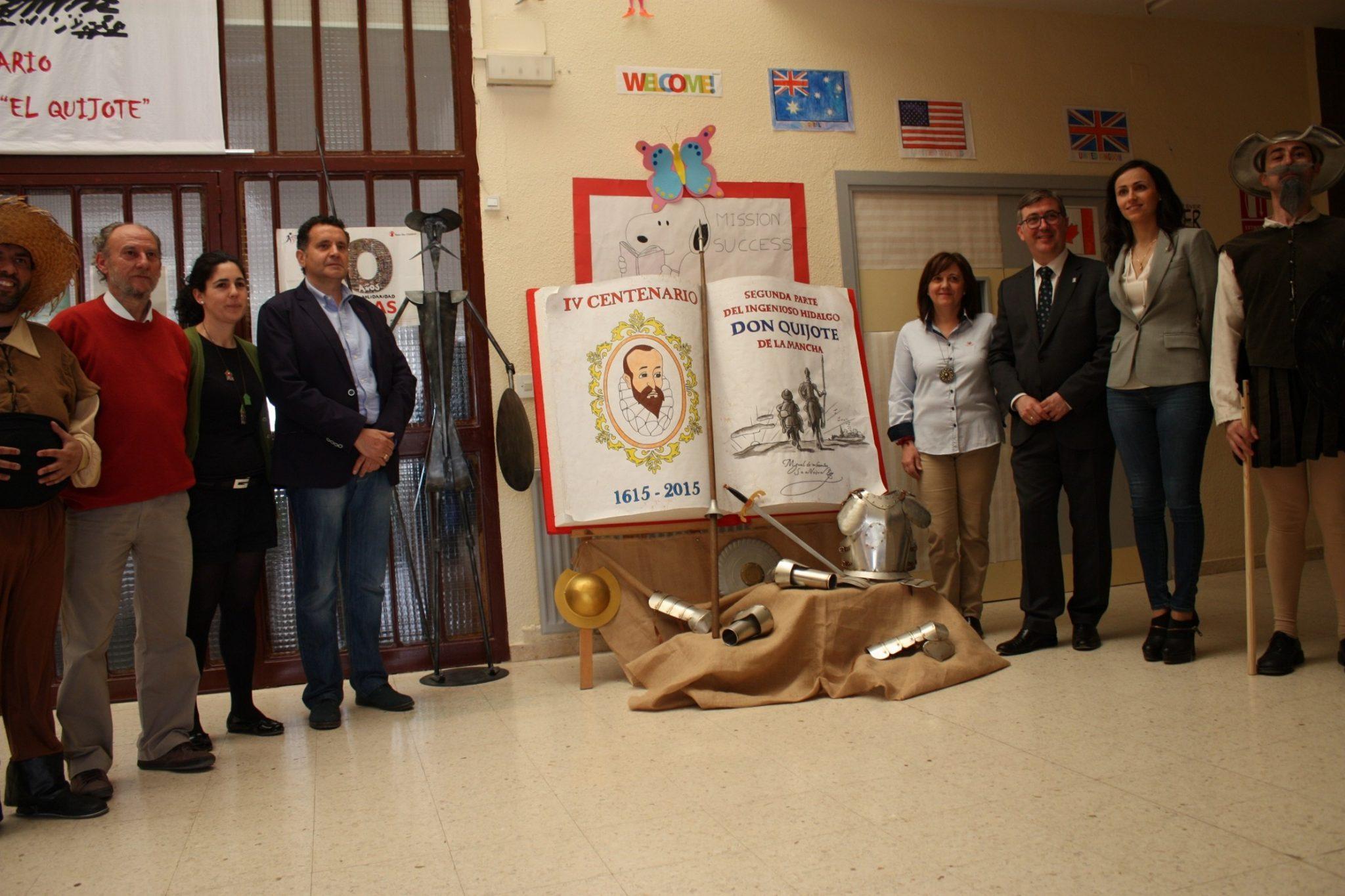 El Consejero de Educación, Cultura y Deporte de CLM visita Villanueva de los Infantes