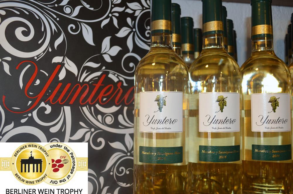 Bodegas Yuntero, doble oro y doble plata en el concurso Berliner Wein Trophy 2015