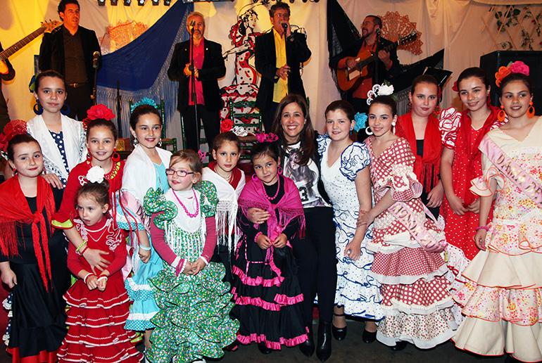 La Alcaldesa asiste al comienzo de la Feria de Abril de Ciudad Real