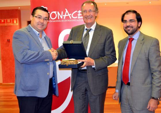 El Consorcio RSU, premiado por CONACEE por su colaboración en la integración laboral de personas con discapacidad