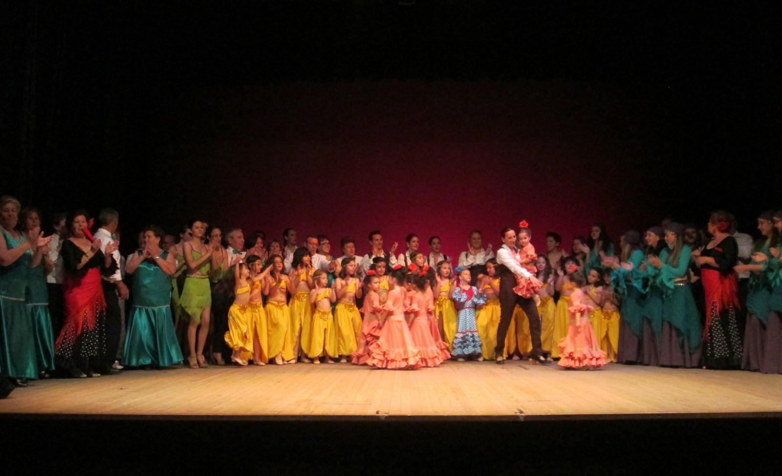 La Academia de Baile Amanecer consigue recaudar 936 euros para 'Los Capuchinos'