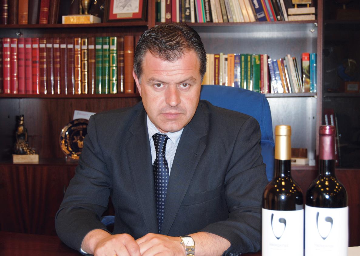 Carlos Nieto. Presidente de la D.O. Valdepeñas