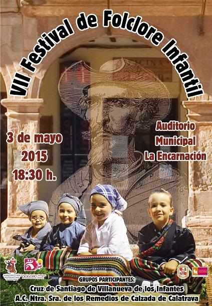Cruz de Santiago celebrará el domingo el Festival Infantil de Folclore