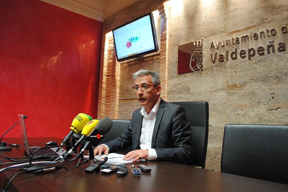 Jesús Martín revalida la alcaldía de Valdepeñas por cuarta vez consecutiva con mayoría absoluta