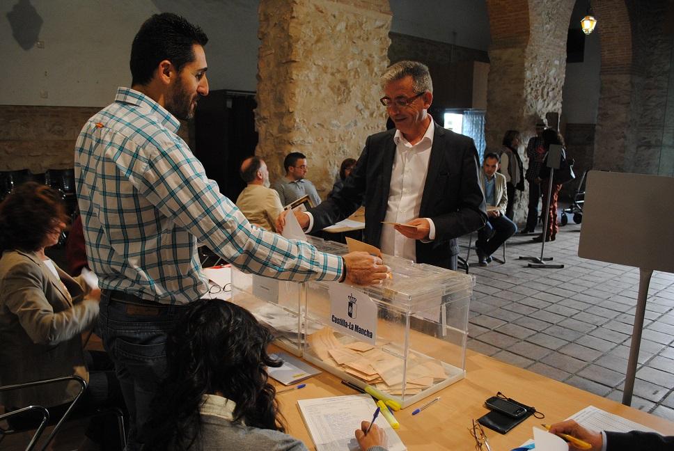 """Jesús Martín recuerda que en las urnas va """"el futuro de Valdepeñas y CLM para los próximos cuatro años"""""""