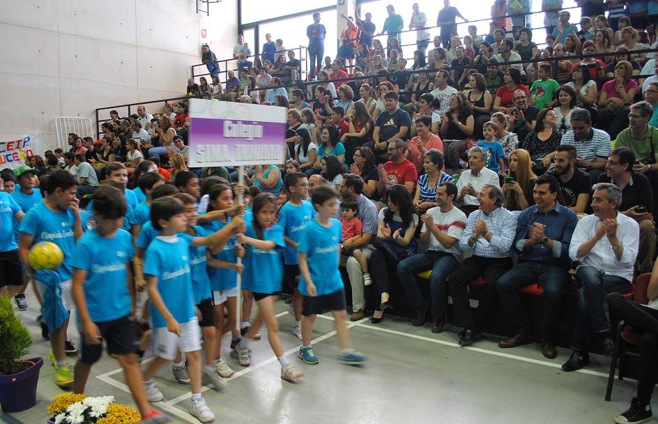 El alcalde de Valdepeñas dio el pistoletazo de salida a las Olimpiadas Escolares 2015