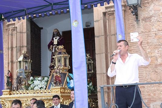 El ofrecimiento a Jesús Rescatado recaudó 13.325 euros en una jornada veraniega
