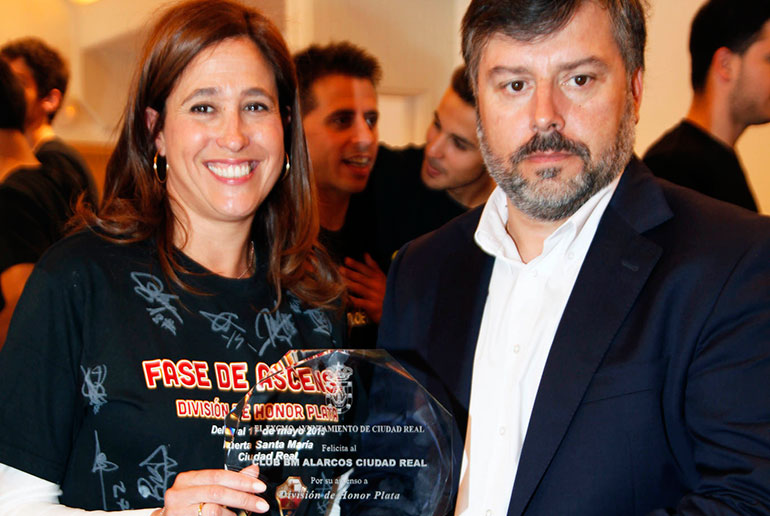 Rosa Romero recibe al Balonmano Alarcos por el ascenso a División Plata